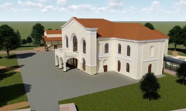 Luxusszálloda épül a megújuló bonyhai Bethlen-kastély mellé