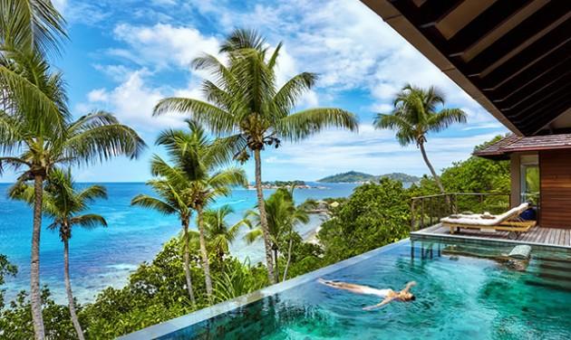 Luxushotelláz az Indiai-óceánon