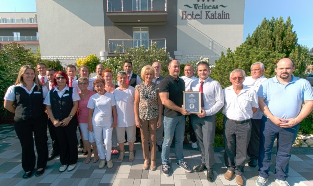 Átadták a Balaton legjobb szállodájának járó közönségdíjat is