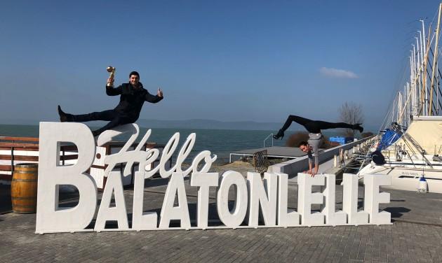 Cirkuszos télbúcsúztató Balatonlellén