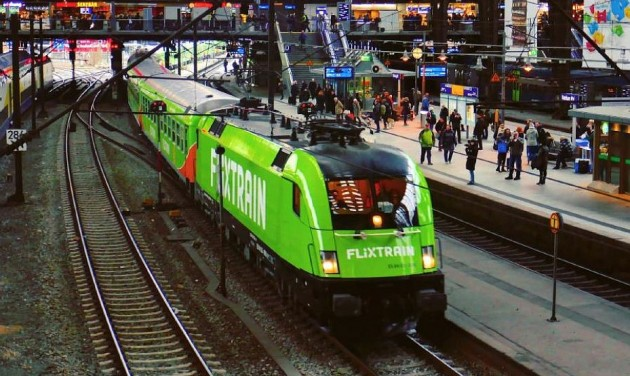 Folytatja az európai terjeszkedést a FlixTrain