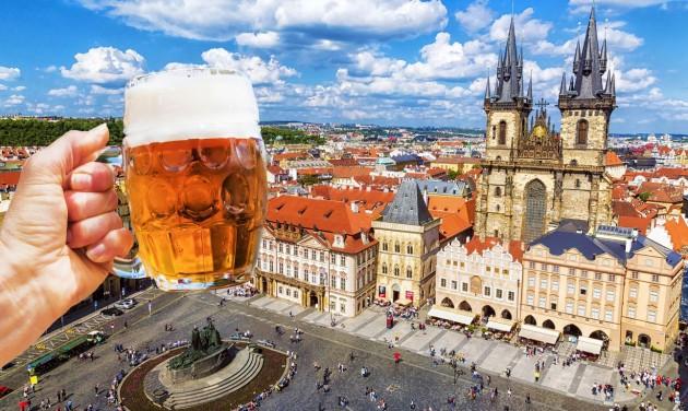 Hatalmas veszteséget könyvelt el a cseh sörgyártás