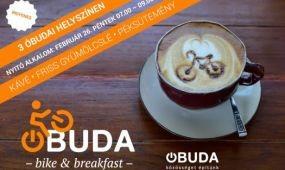 Bike & Breakfast: reggeli a kerékpárral közlekedőknek