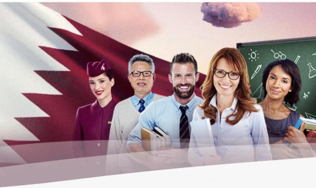 Pedagógusoknak ad ajándék repjegyet a Qatar Airways