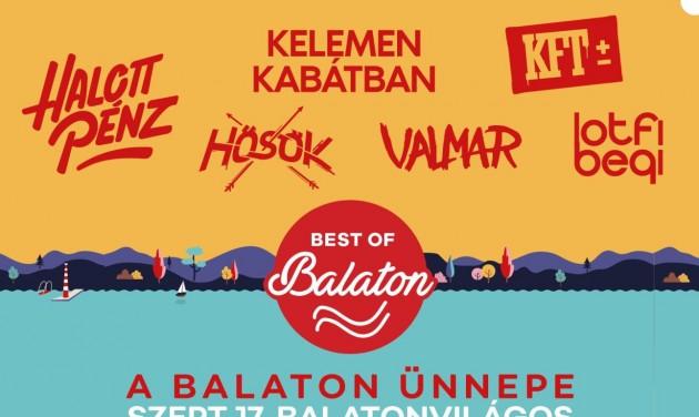 Balaton Ünnepe – szeptember 17-én jön a nyárzáró fesztivál