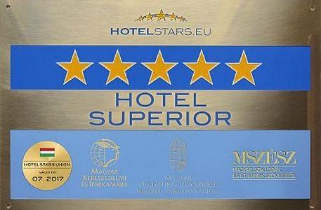 Új Hotelstars minősítések