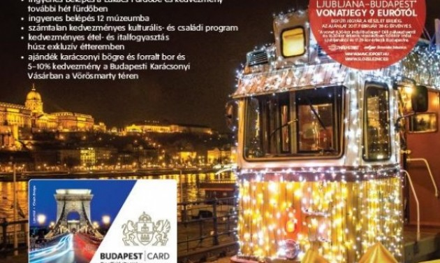 Várja a szlovén vendégeket a téli Budapest!