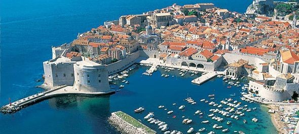 Turistafolyam Dubrovnikban