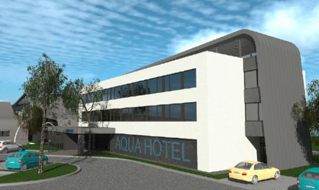 Az egészségmegőrzésre fókuszál Kecskemét most épülő szállodája