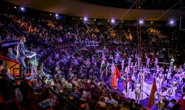 Elkezdődött a Budapesti Nemzetközi Cirkuszfesztivál