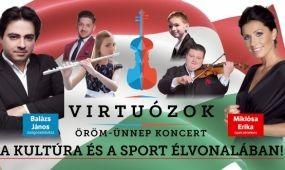 Virtuózok öröm-ünnep koncert