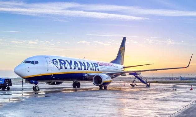 150 millió forintos bírságot kapott a Ryanair a kormányhivataltól