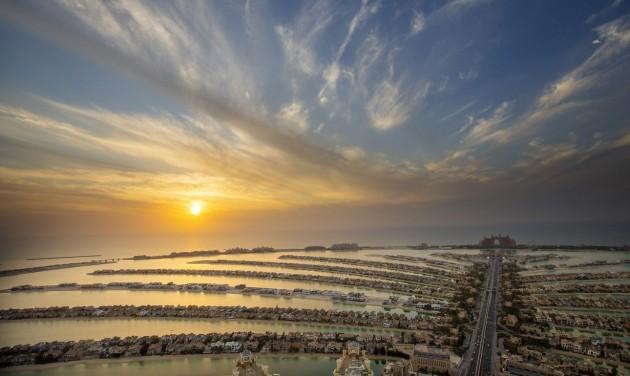 Bámulatos kilátóterasz nyílt Dubaj Pálma-szigetén