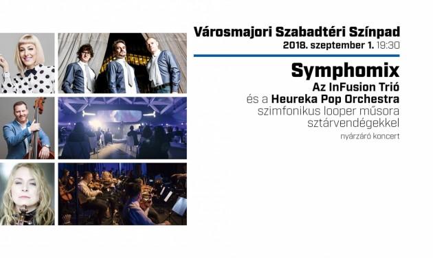 Symphomix - nyárzáró koncert a Városmajori Szabadtéri Színpadon szeptember 1-jén