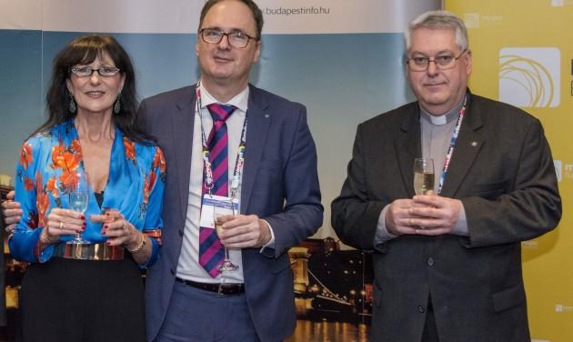 Káel Csaba kapta a Budapest kulturális és turisztikai nagykövete 2018 díjat
