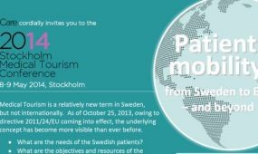 Gyógyturizmus konferencia Stockholmban