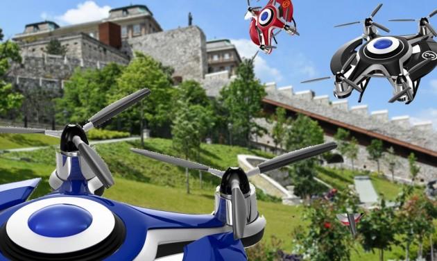 Robotok, drónok és űrhajók a Várkert Bazárban