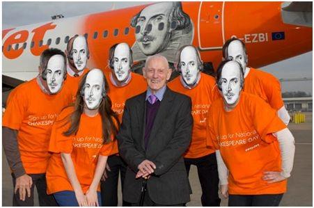 Shakespeare-ért kampányol az easyJet és Emma Thomson