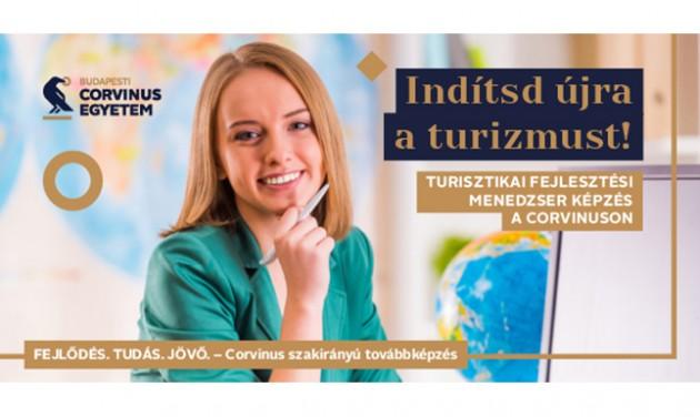 Turisztikai fejlesztési menedzser/ szakközgazdász képzés a Corvinuson