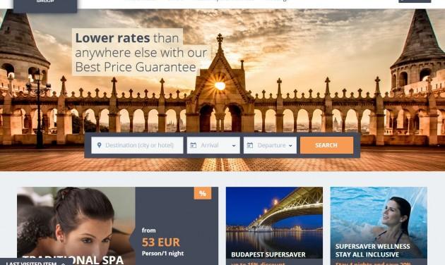 Amerikai webmotor hajtja a Danubius új honlapját
