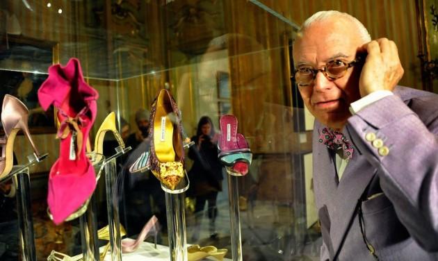 Cipőimádóknak Manolo Blahnik-kiállítás Prágában
