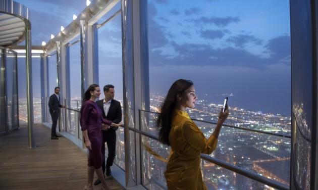Itt a világ legmagasabban fekvő lounge-a