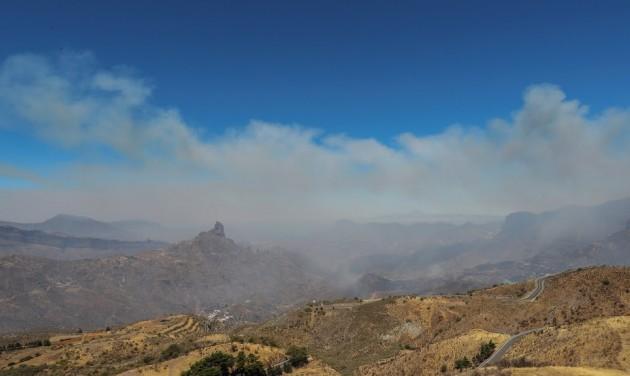 Erdőtűz tombol Gran Canarián