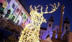 Téli fesztivál és betlehemes találkozó Győrben
