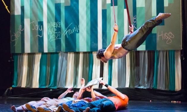 Mozgássérült akrobaták a Sziget cirkuszi sátrában
