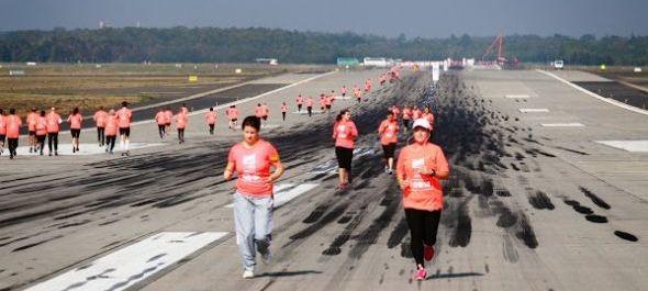 Runway Run 2014 – meghívásos futóverseny a repülőtéren