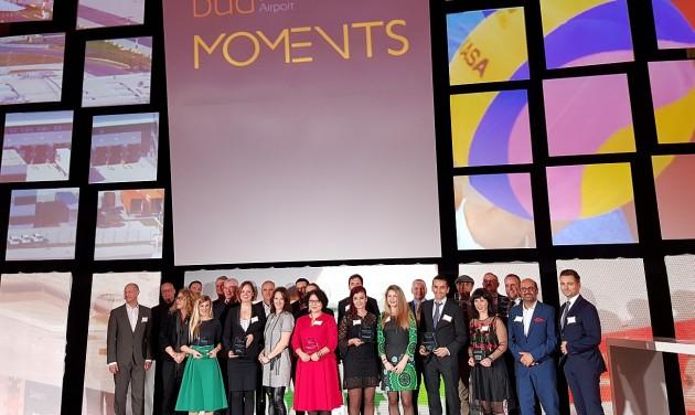 Ismét díjazta legjobb partnereit a Budapest Airport