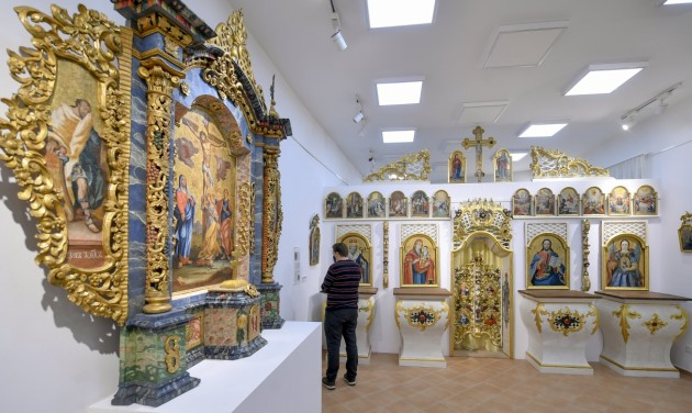 Debrecenben látható az eucharisztikus kongresszusra készült ikonkiállítás
