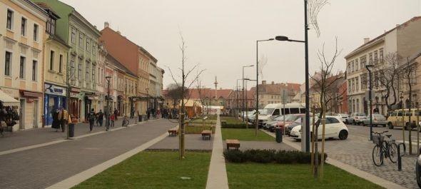 Megújult a soproni Várkerület