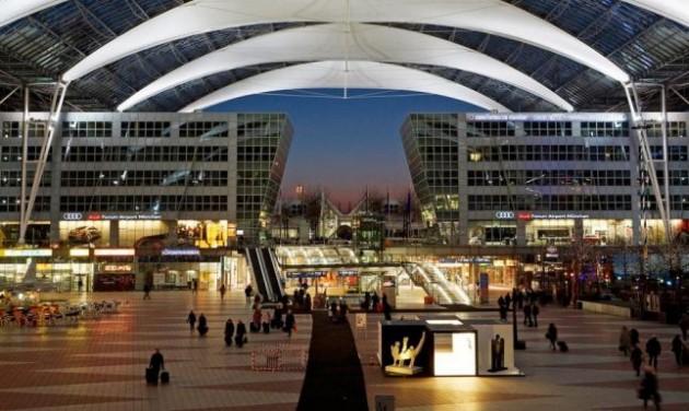 Rekord árbevétel a müncheni repülőtéren