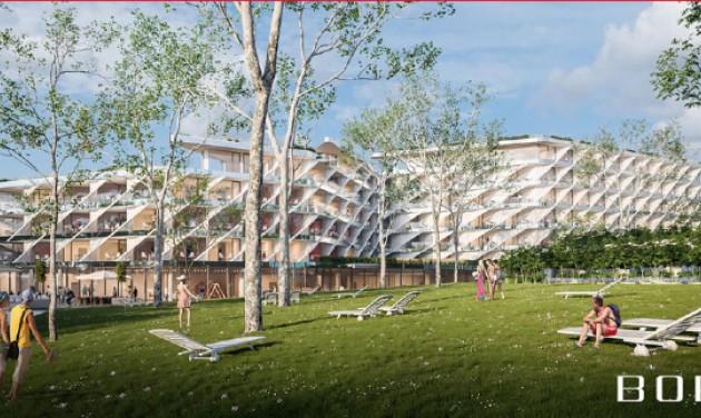 Látványterveken az Aquaticum Debrecen következő szállodája