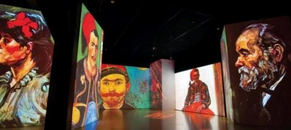 Van Gogh multimédiás kiállítás Varsóban