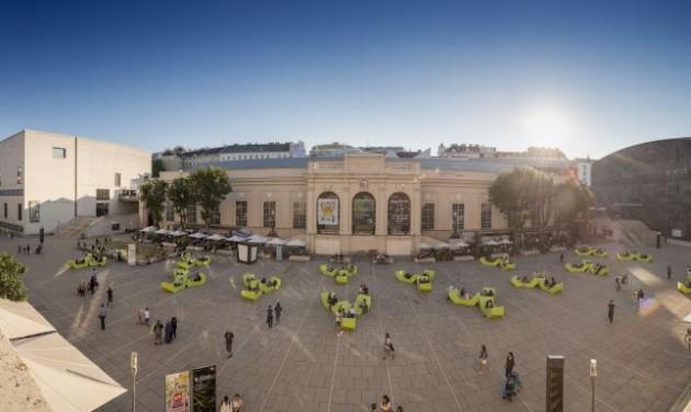 Új kultúrtér épül a bécsi Múzeumi Negyed tetőteraszán