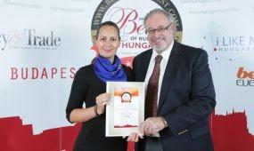 Már harmadszor Best of Budapest & Hungary díj!