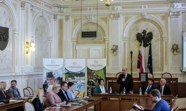 Tovább építi lengyel kapcsolatait Nyíregyháza