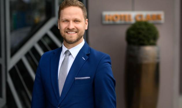 Lukács István a Hotel Clark Budapest új igazgatója