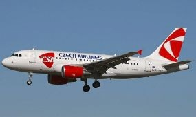 Nagyobb gépkihasználtság a Czech Airlinesnál