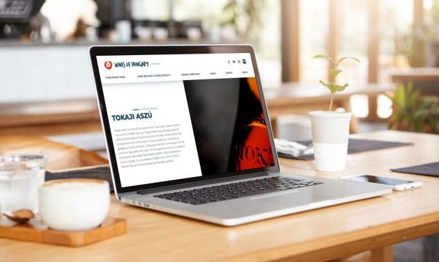Elindult a Wines of Hungary weboldal