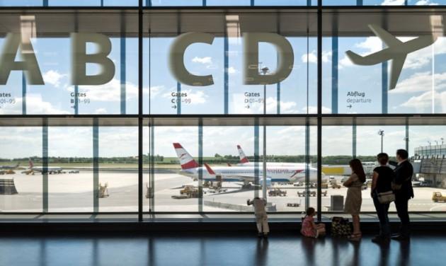 Újabb rekordév a bécsi repülőtéren