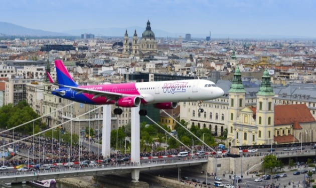 Airbus A321 a légibemutatón
