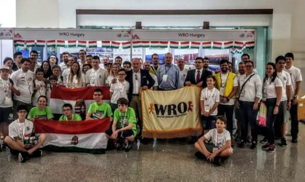 Lezárult a World Robot Olympiad hazai döntője