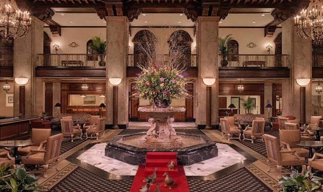 Kacsamester a szállodában