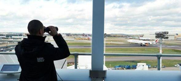 Kilátóterasz nyílt Heathrow-n