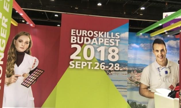 A BFTK a szakmák olimpiáján mutatja be Budapestet