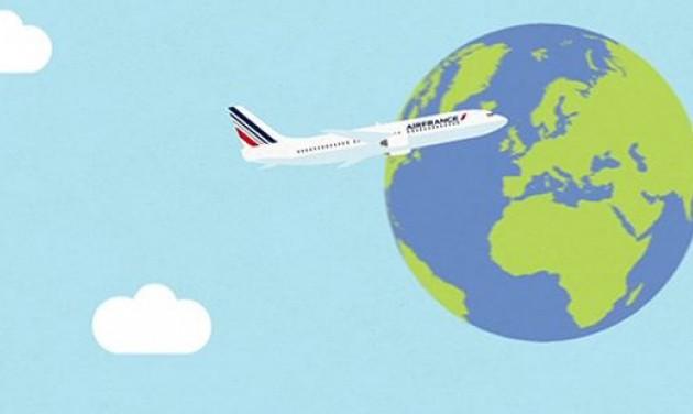 Lecseréli az egyszer használatos műanyagokat az Air France