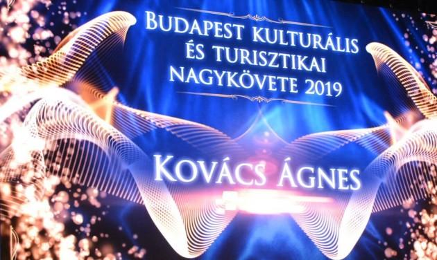 Kovács Ágnes a főváros nagykövete